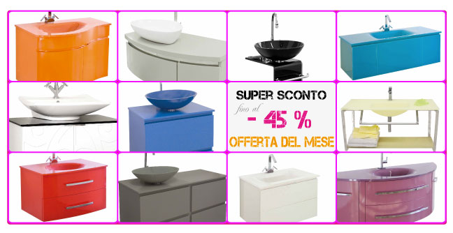 Stunning Arredo Bagno Offerte On Line Images - New Home Design ...