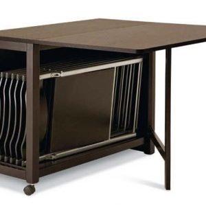 tavolo allungabile contenitore pieghevole