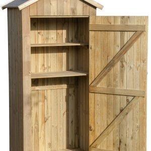 armadio in legno da giardino