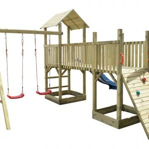 super torre altalena per bambini