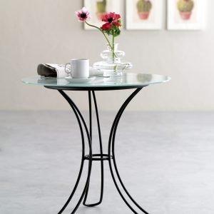 tavolino tondo ferro fiocco