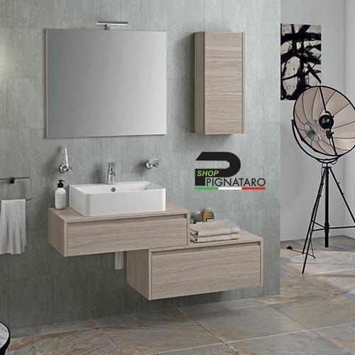 Arredo Bagno Classico Sospeso.Mobile Bagno Sospeso Trevi 01 Pignataro Shop