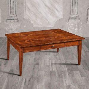 tavolino da salotto classico rettangolare egeo