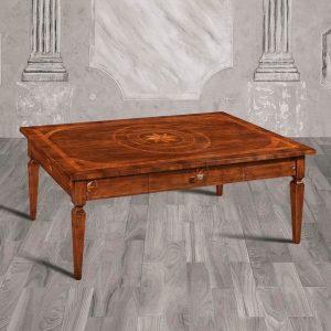 tavolino salotto classico rettangolare liberto