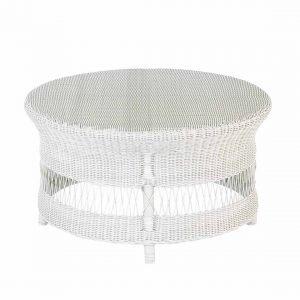 Tavolino Tondo in fibra sintetica Selene