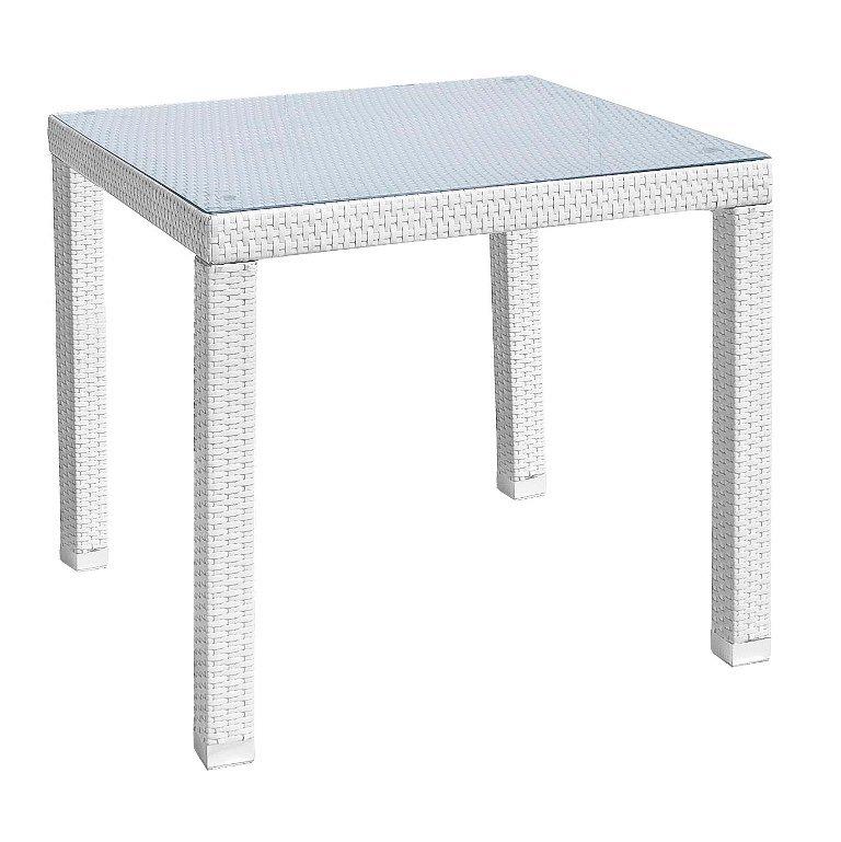 Tavolo Bianco 80x80 Allungabile.Tavolo Steps C V Bianco 80x80 Pignataro Shop