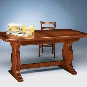 tavolo allungabile doppio gambo