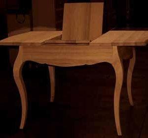tavolo allungabile sagomato gisele