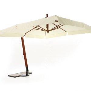 ombrellone a braccio in legno