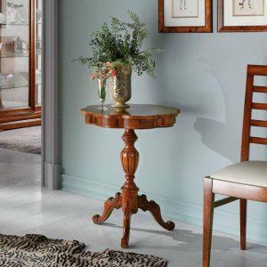 tavolino tondo classico alto rolfo