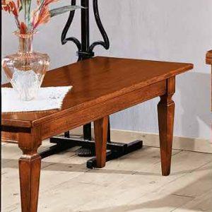 tavolino classico in legno rettangolare tullio