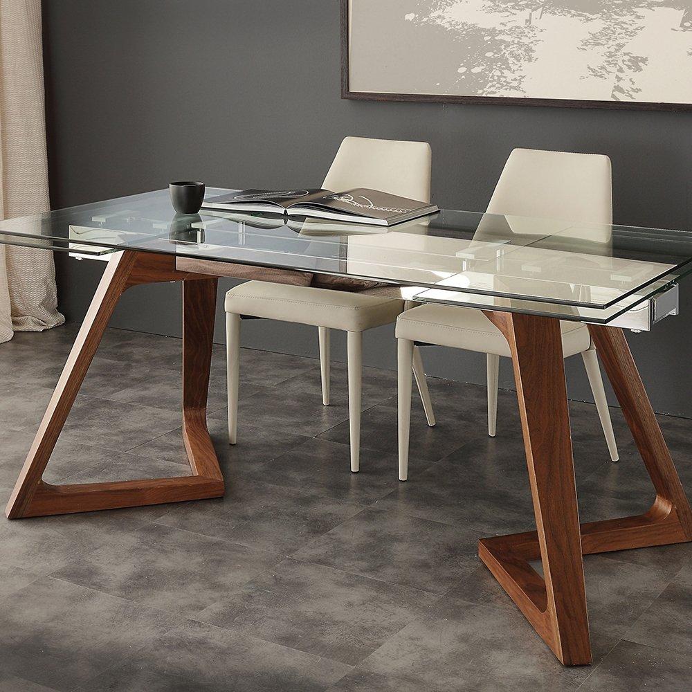 Tavolo Con Gamba Centrale Allungabile tavolo allungabile gaudÌ art 8647 - pignataro shop