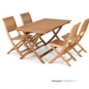 Tavolo Pieghevole da esterno